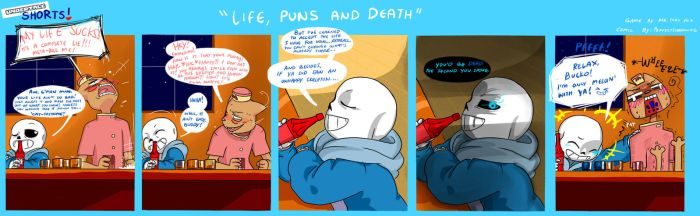 Undertale SHORTS: Life,Puns and Death by perfectshadow06