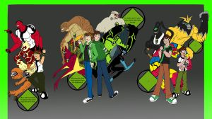 Ben 10 - Through the Ages by Assassin-VariableX