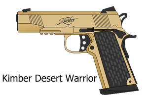 Kimber Desert Warrior by sudro