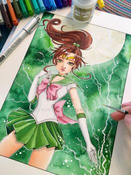 Sailor Jupiter by LeFay00