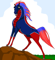 Beau horse racer two by WhiteBooster
