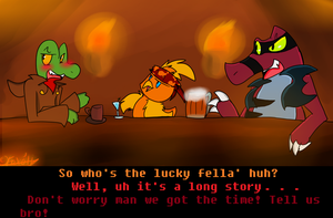 PKMNC: Night At The Bar by FoxxyFoxTrot