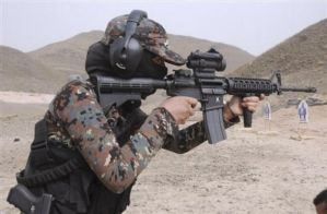 yemen Special Forces woman by saudi6666