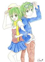 [Fan Art] Gumi e Gumiya Colored by Inra98