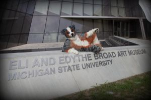 #3 of series 1: Eli and Edythe Broad Art Museum by Tychoaussie