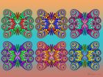 FE Butterfly Collage by wolfepaw