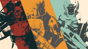Destiny classes wallpaper by Fekke