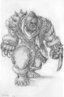 Multhar Orc Rogue by DKuang