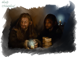 Fili and Kili by LadyMintLeaf