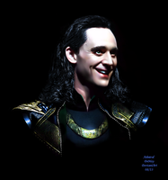 Loki - The Dark World SDCC II by AdmiralDeMoy