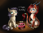 Ha-happy Birthday! by Moenkin