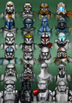 Star Wars - Troopers by AraxussYexyr