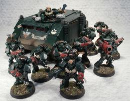 6th Tactical Squad, 4th Company. 1st Legion by Elmo9141