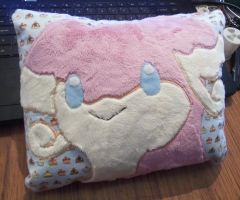 Audino mini pillow by angelberries