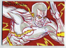 Flash 2x3.5 by TomKellyART