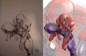 Spider-man pen *UPDATE* by NoBullet