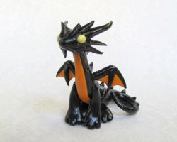 Halloween Dragon by DragonsAndBeasties