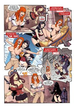 Mary Arcadia Topless Tickle Page by TheBandito