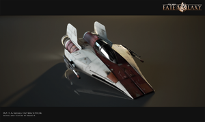 RZ-1 A-wing Interceptor by Brandx0