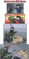 Stories of an MGS Moron 1 by zarla