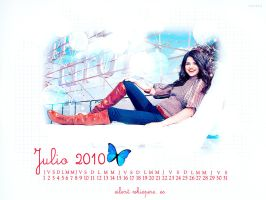 Wallpaper Selena Gomez 2 by shad-designs