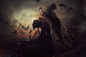 The Crow Guardian by Gedogfx