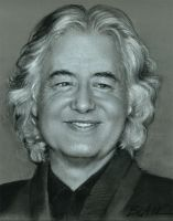 Jimmy Page, Guitar Legend by Cynthia-Blair