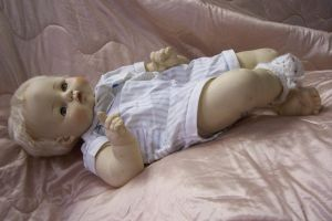Full body baby doll by paintresseye
