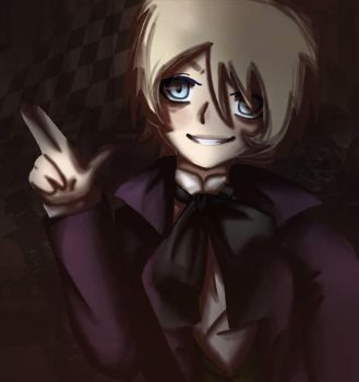 Alois Trancy [Black Butler] by the-only-artist