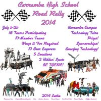 Carramba High Road Rally 2014 by lethe-gray