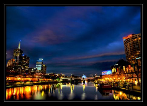 Swanston after Sunset by iUDEXnCr