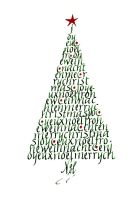 Christmas tree 3 by Alpacalligraphy