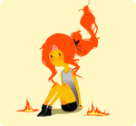 Flame by IlseL