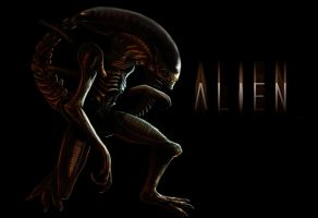 Alien by MightyGodOfThunder