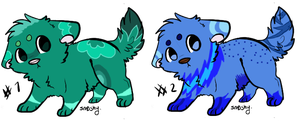 Puppy Adopts {Closed} by Shadowed-Adoptables