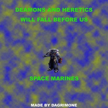 space marines by DaGrImOnE