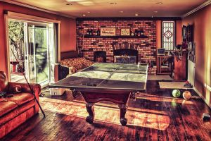 The beer pong table by JimP4nsen