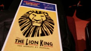 The Lion King Broadway Playbill by SmoothCriminalGirl16