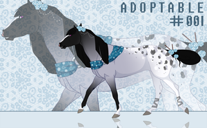 Horse Adopt #1 (CLOSED) by Arcies
