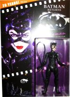 catwoman carded cernit figure by reptilest