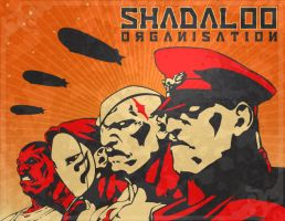 Shadaloo Organisation by tsutar