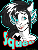 Squee Badge by pen-not-pencil