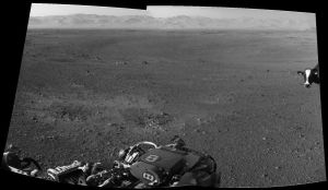 Curiosity Lands in Eastern Washington by Circusdog