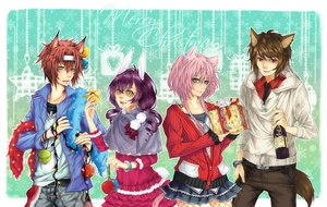 .Merry Christmas. by crys-art