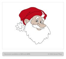 Santa Vector Ressource by synthes