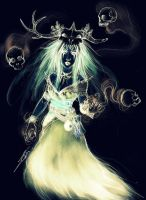 The Ghost of the Necromancer by NienorGreenfield