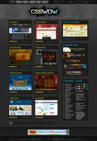 Black Css Gallery by princepal by WebMagic