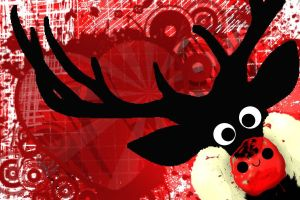 This years Splat xmas card design by SazLeigh