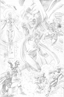 Justice Society for PUMMEL by IanJMiller