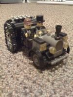 Steam Punk Lego Car by jnkwarrior